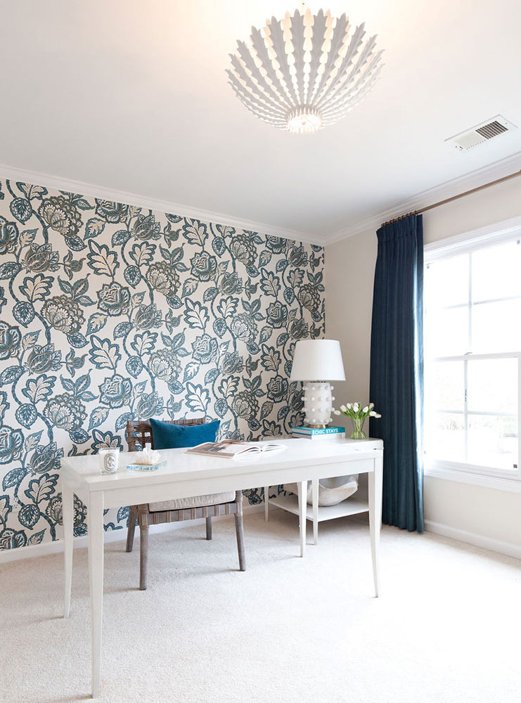 Germantown Home Office and Guest Suite - Interior Design by Lindsey Black Interiors